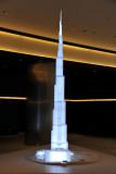 Burj Khalifa stands 828m (2717ft)