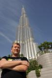 Me and the Burj Khalifa