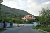 Villa along the road south of Lake Shkodër
