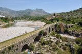 Mesi Bridge, linking the ancient trade route between Shkodër and Kosovo