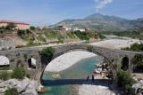 Mesi Bridge over the Kir River, northern Albania