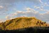 Rozafa Castle in the late afternoon