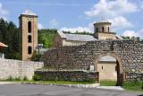 Entrance to Sopoćani Monastery