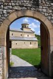 Gate to Sopoćani Monastery