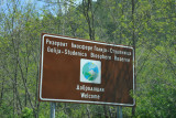 Entering the Golija-Studenica Biosphere Reserve, Serbia