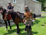 Medieval costumes at Gradac Festival