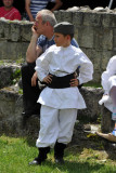 Young Serbian boy in traditional clothing