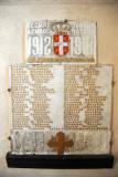 Memorial tablets to the Serbian dead - Sirogojno