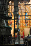 Sarajevo Cathedral interior under repair