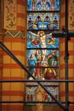 Stained glass window - Sarajevo Cathedral