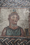 Ancient mosaic of Caliope, the muse of epic poetry