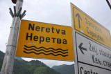 The river Neretva in Konjic