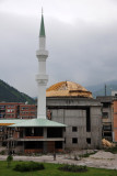 A new mosque under construction in Konjic