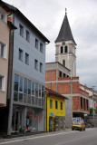 Konjic's main street