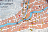 Map of Mostar