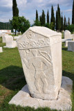 Tombstone at Radimlja - archer