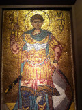 St. Demetrius of Thessaloniki - 12th Century mosaic from Kiev