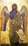St. John the Baptist, the Angel of the Wilderness, late XIV-early XV Century Moscow