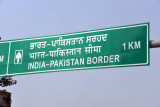 Indian-Pakistan border, 1 km