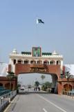 Pakistani gate, Wagah Border