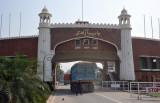 Western side of the Pakistan Gate (Bab Azadi)