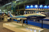 Model of the Boeing 747-8