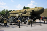 Artillery and a mobile missile launcher, Exhibition of Military Equipment, Kiev