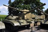 Soviet T-64 Tank (1967) and a railroad mountedgun