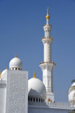 Each of the four minarets is 107m (351ft) tall