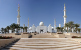 Panoramic View of the Sheikh Zayed Mosque from the eastern steps