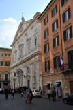 San Luigi dei Francesi - façade 1580-1588