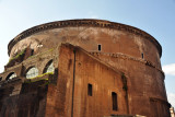 The Pantheon was originally built in 27 AD by Agrippa