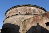 The Pantheon was rebuilt by Hadrian 117-138 AD