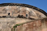 The Pantheon was converted into a church in 608 AD