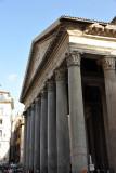 Northern façade of the Pantheon