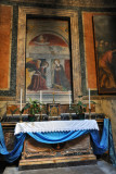 St. Lawrence and St. Agnes (Clemente Maioli), Chapel of the Annunciation