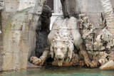 Lion - Fountain of the Four Rivers