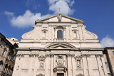 Construction for the Chiesa del Gesù began in 1568