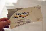 Seawings Silver Boarding Pass