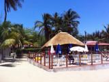 Beach terrace, Ilha do Mussulo