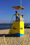 PSA lifeguard tower, Ilha do Mussulo
