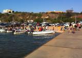 The Embarcadero pier, South Luanda
