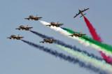 UAE Aerobatic Team - Al Fursan - flying Aermacchi MB-339A jet trainers