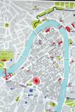 Map of downtown Verona