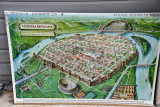 Artist's impression of ancient Verona during the Roman period