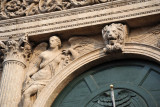 Architectural detail, Corso Cavour