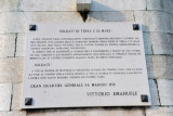 Plaque dated 1915 from Vittorio Emanuele to the Italian military