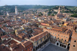 View to the north over the old city of Verona