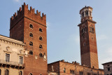 Piazza dei Signori with two towers