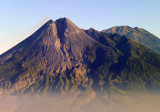 Gunung Merapi - Fire Mountain - erupted in late 2010